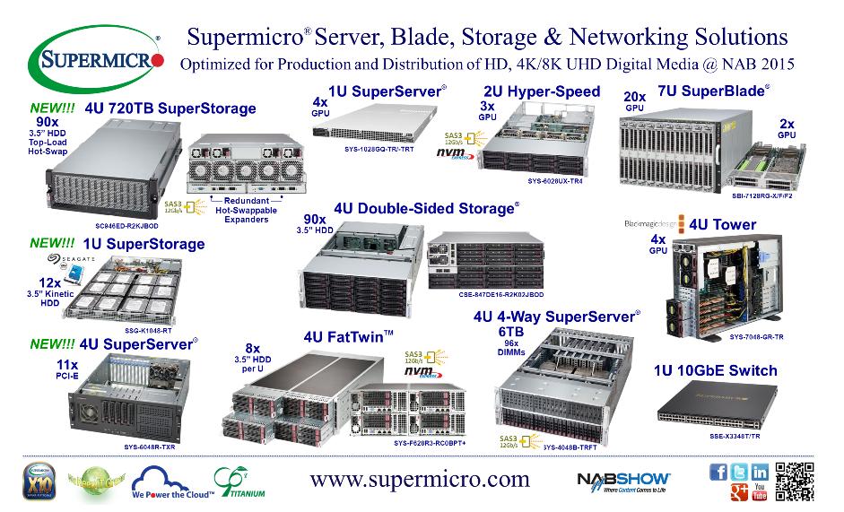 MATRIX UAB - SUPERMICRO Serveriai